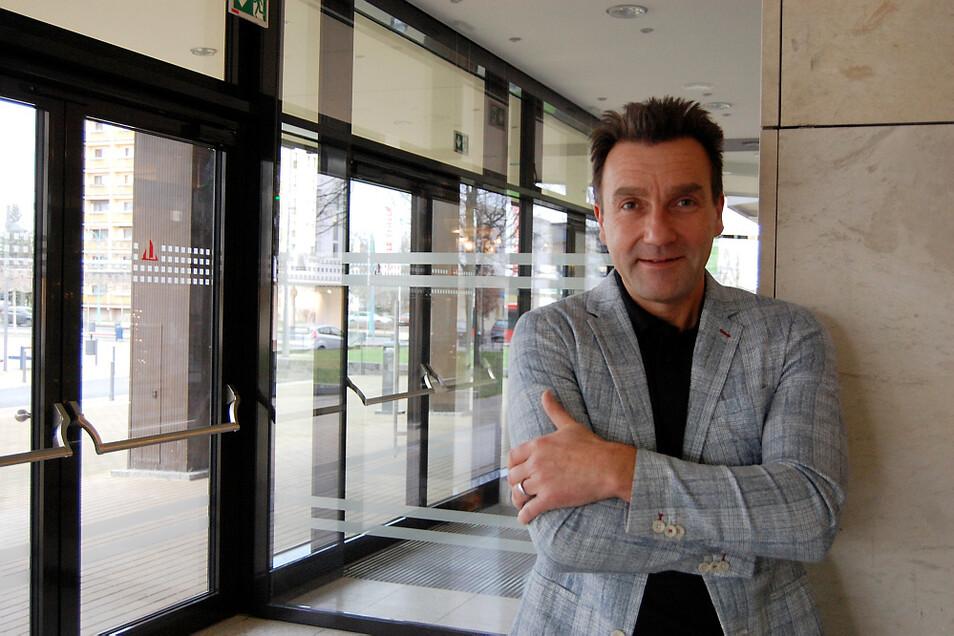 Dirk Rolka ist Geschäftsführer der Lausitzhalle Hoyerswerda.