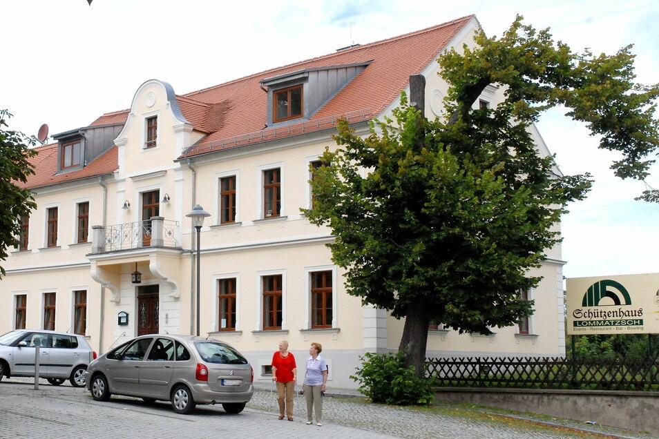 Wegen Corona konnte das Schützenhaus in Lommatzsch in diesem Jahr kaum vermietet werden. Das treibt die Kosten in die Höhe.
