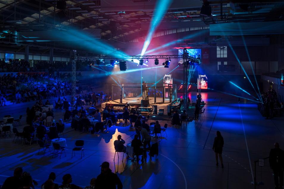 Das Turnier der Mixed Martial Arts-Reihe kommt in die Riesaer WM-Halle.