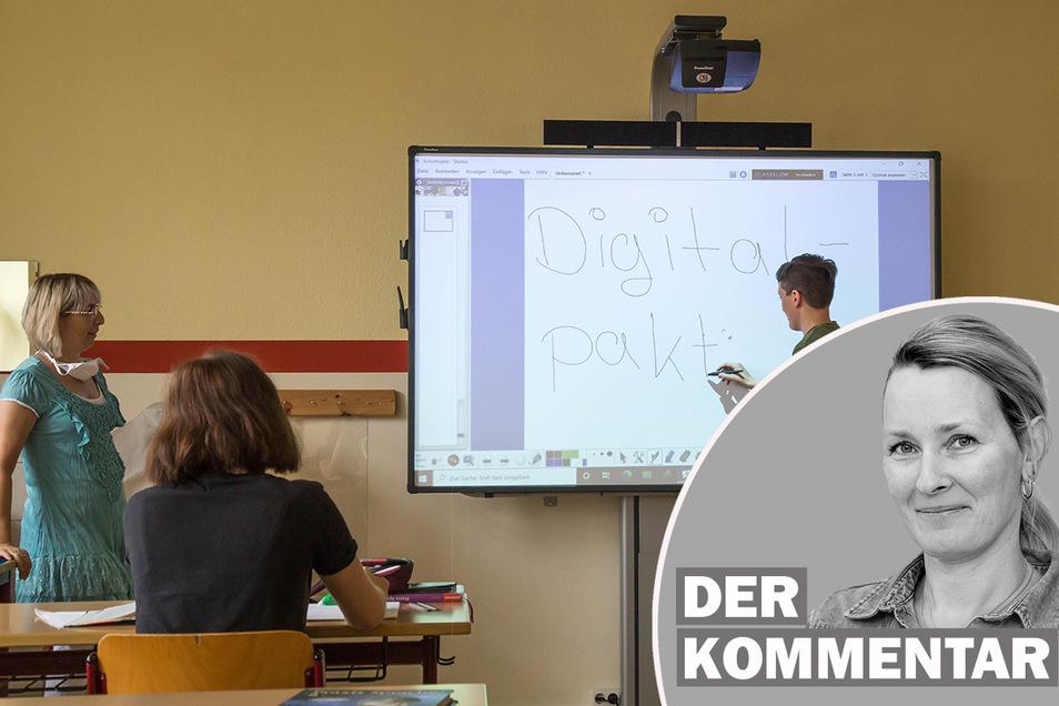 Daniela Pfeiffer kommentiert die Schul-Digitalisierung