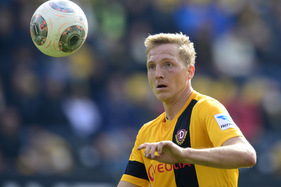 Marco Hartmann kam 2013 vom Halleschen FC nach Dresden. Vor allem nach dem Abstieg 2014 entwickelte er sich zu einem Leistungsträger bei Dynamo.