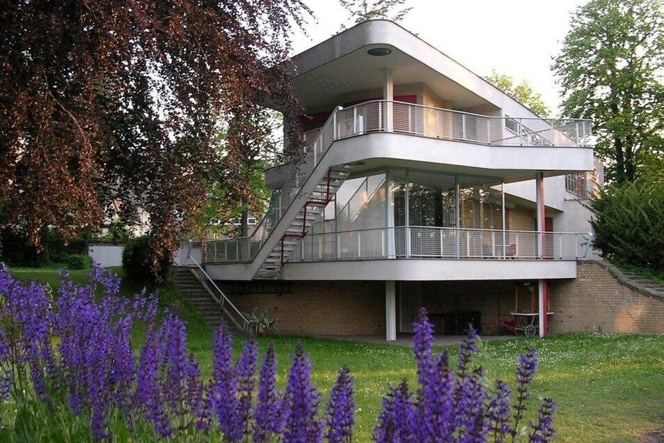 Das Schminke-Haus steht hingegen für moderne Architektur.
