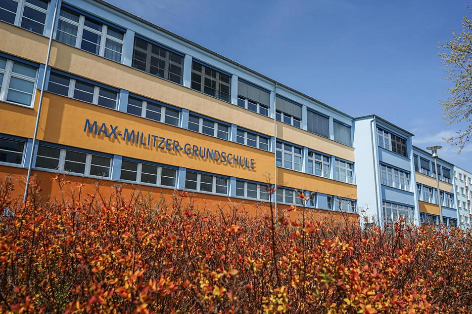 Die Max-Militzer-Grundschule  soll als erste städtische  Schule in Bautzen vom Digitalpakt profitieren.