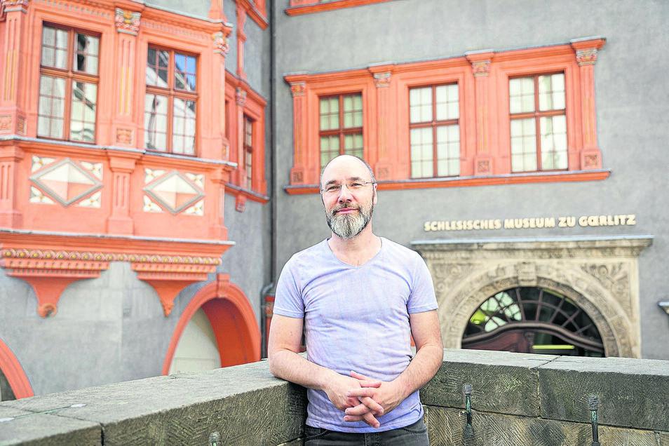 Matthias Voigt ist schon lange mit dem Schlesischen Museum verbunden. Jetzt gehört er zum festen Team.