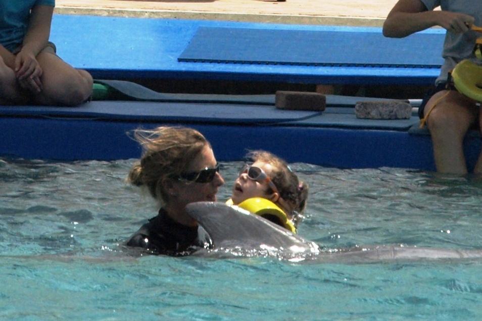 Die Delfin-Therapie auf Curacao brachte vor vier Jahren großen Erfolg.