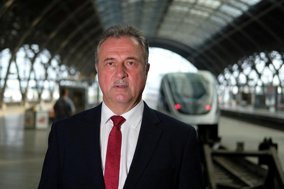 Claus Weselsky, Vorsitzender der Gewerkschaft der Lokführer.