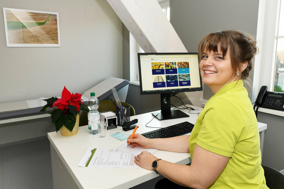 Neurologin Katharina Kubitz hat am Montag ihren ersten Tag als angestellte Ärztin im Team von Kay Herbrig. Sie freut sich auf die Arbeit im neuen Ärztehaus.