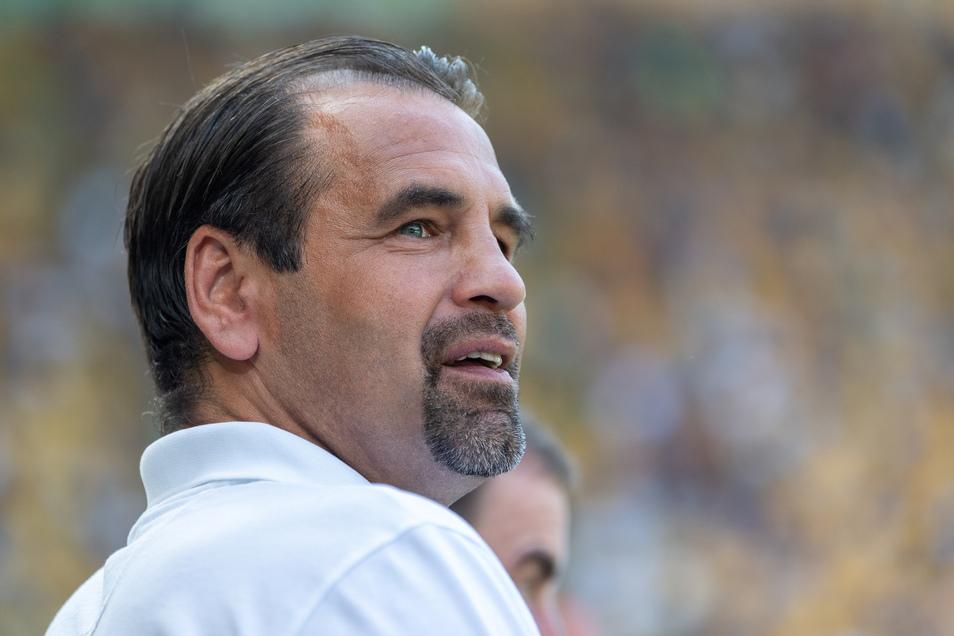 Dynamos Ehrenspielführer Ulf Kirsten hofft auf einen zweiten Aufsteiger aus dem Osten.
