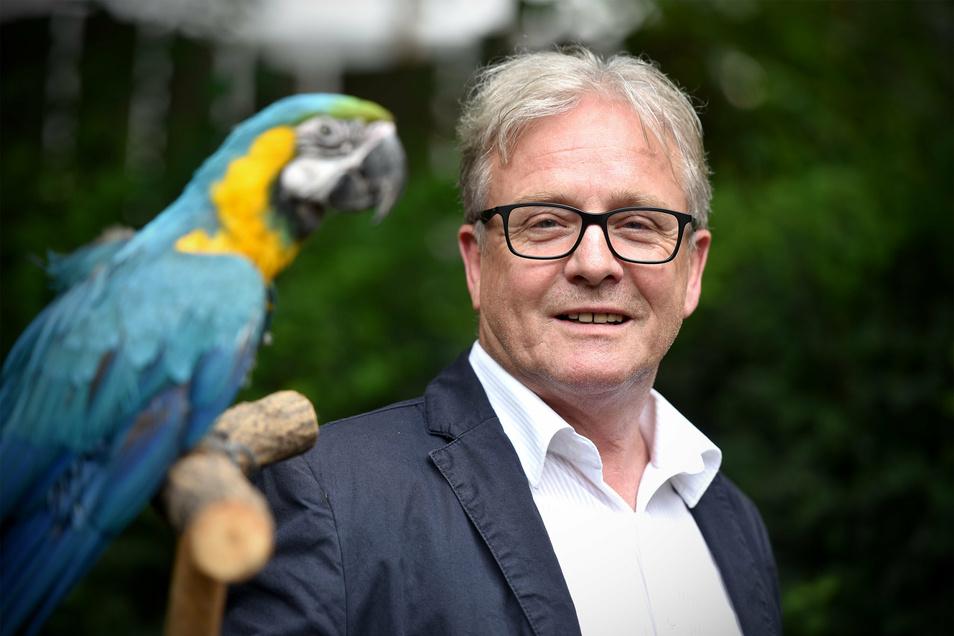 Bernd Großer, ehemaliger Tierparkdirektor in Zittau.
