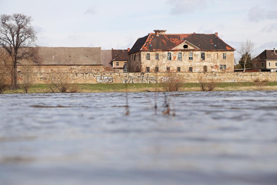 Schloss Promnitz diente früher als Quartier.