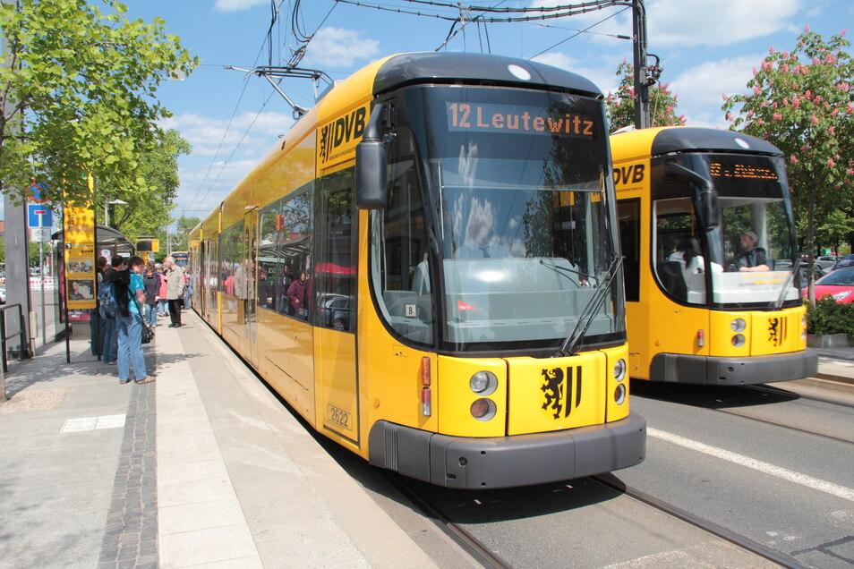 Hitze setzte am Wochenende auch den Dresdner Verkehrsbetrieben zu.