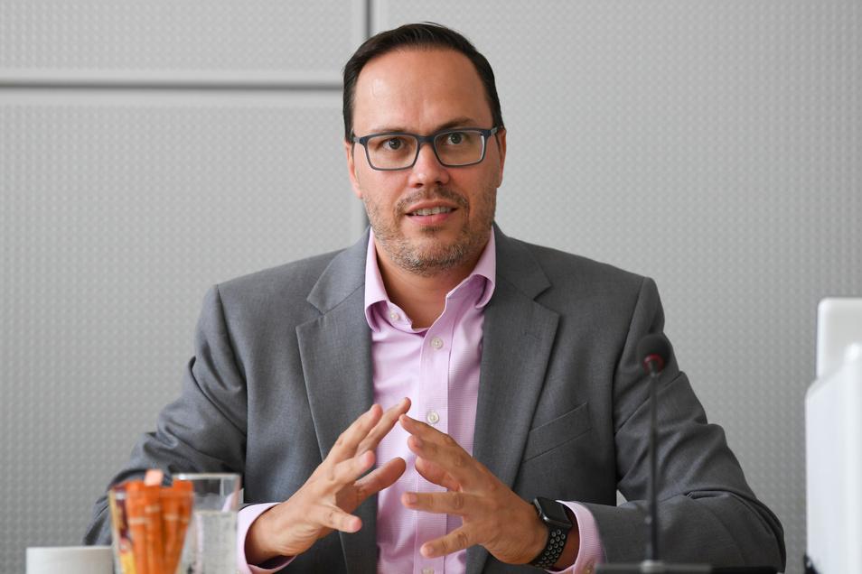 Die SPD im sächsischen Landtag hat am Donnerstag einstimmig Dirk Panter zu ihrem Fraktionschef gewählt.