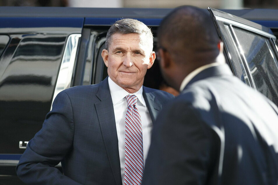 Das Archivbild zeigt Michael Flynn, den ehemaligen Sicherheitsberater von US-Präsident Trump.