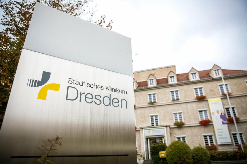 Das Krankenhaus Neustadt von außen.