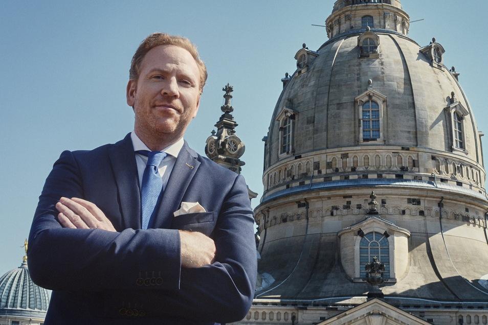 Daniel Hope ist der künstlerische Direktor der Dresdner Frauenkirche.