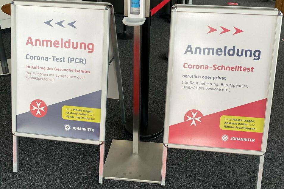 Zwei Tests, drei Preise: Nachdem der PCR-Test zwischenzeitlich bei den Johannitern für 69 Euro zu haben war, kostet er nun wieder 150 Euro.