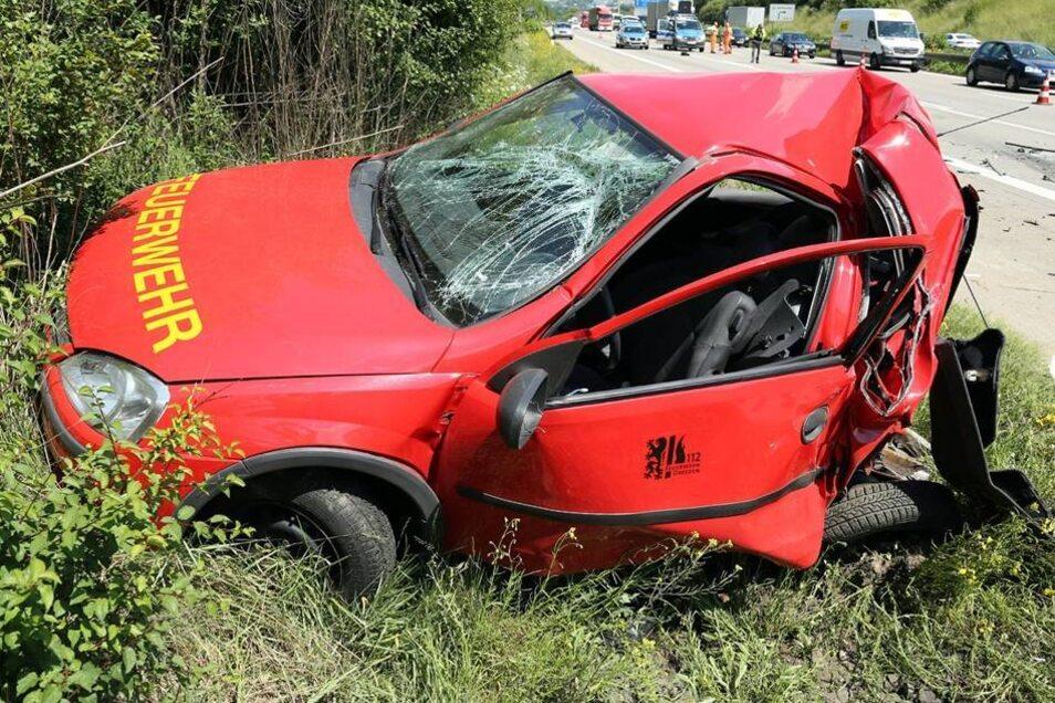 Auf der A4 ereignete sich am Mittwochvormittag ein folgenschwerer Verkehrsunfall zwischen den Anschlussstellen Dresden-Altstadt und Dreieck-Dresden-West.