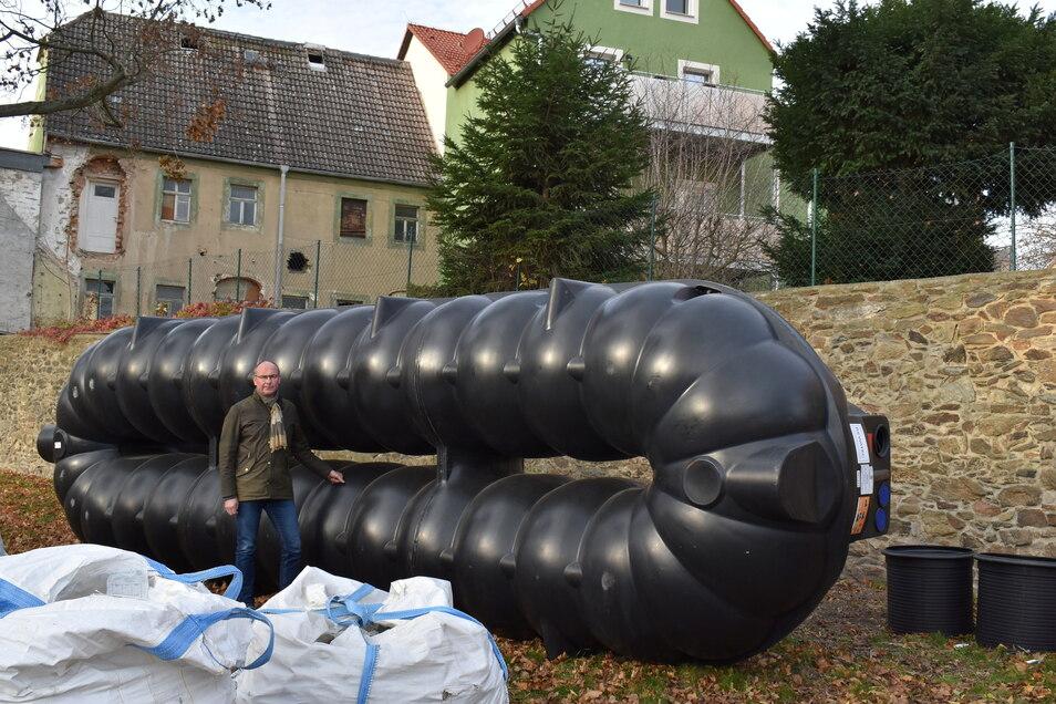 Der Wassertank für die Weberallee kam nicht von einer Großenhainer Firma. Viele andere Leistungen schon.