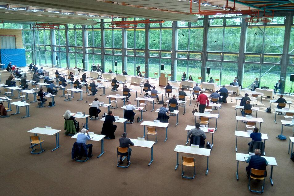 Sitzung des Kreistages Sächsische Schweiz-Osterzgebirge. Demnächst mit Anträgen von CDU und Linke zur geplanten Schließung der Gynäkologie in der Sebnitzer Klinik.