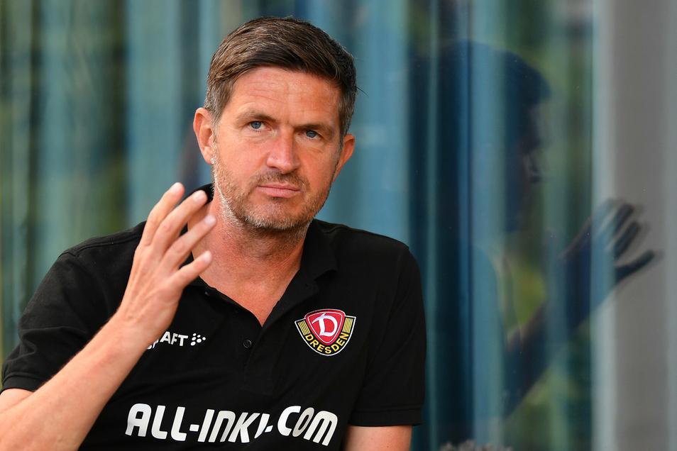 Dynamos Sportgeschäftsführer Ralf Becker sagt im Interview auch, warum er die Testspiel-Ergebnisse nicht überbewertet und ob noch Spieler gehen.