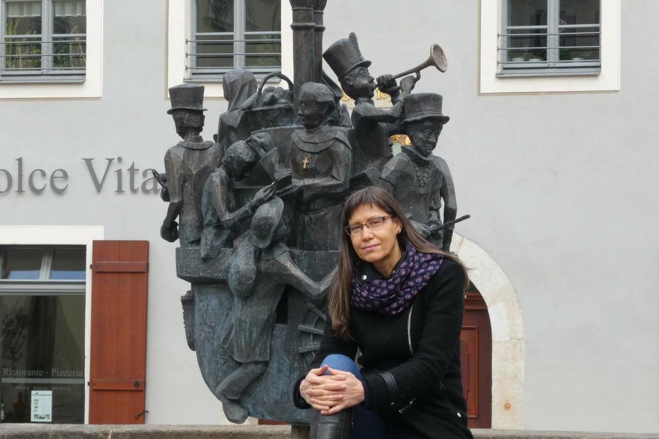 In Pirna ist Heike Stöhr aufgewachsen, in Pirna spielen ihre historischen Romane.