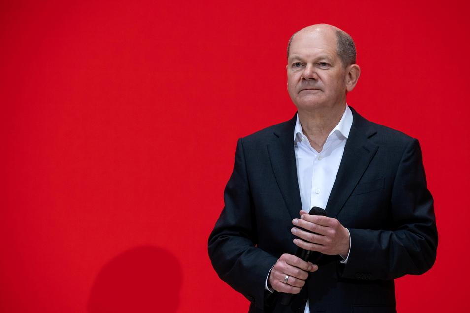 Olaf Scholz (SPD) sieht eine sich ändernde Stimmungslage