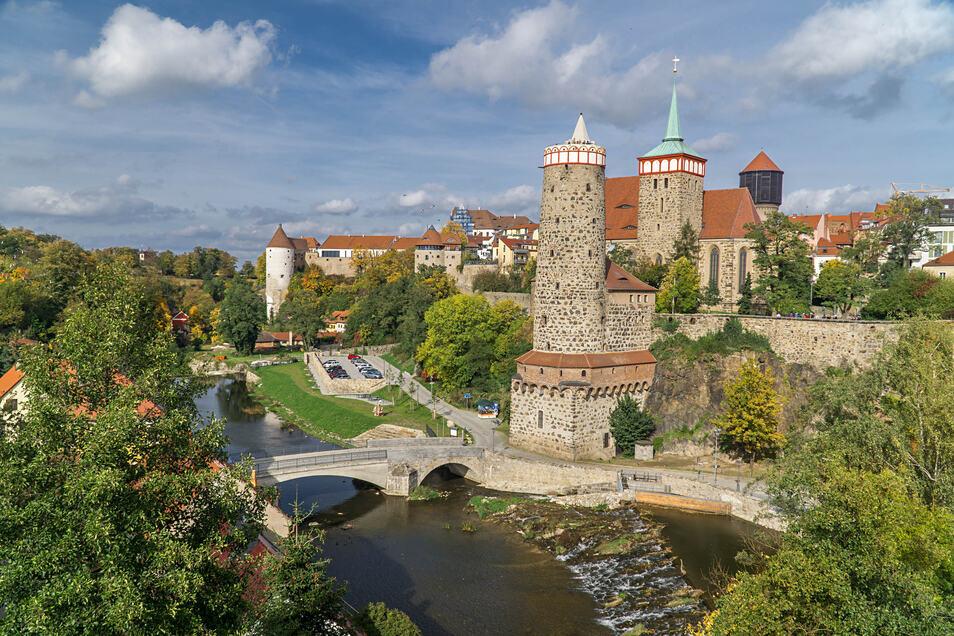 Bei ausländischen Oberlausitz-Besuchern ist die Stadt Bautzen das Ziel, das am zweithäufigsten gebucht wird.