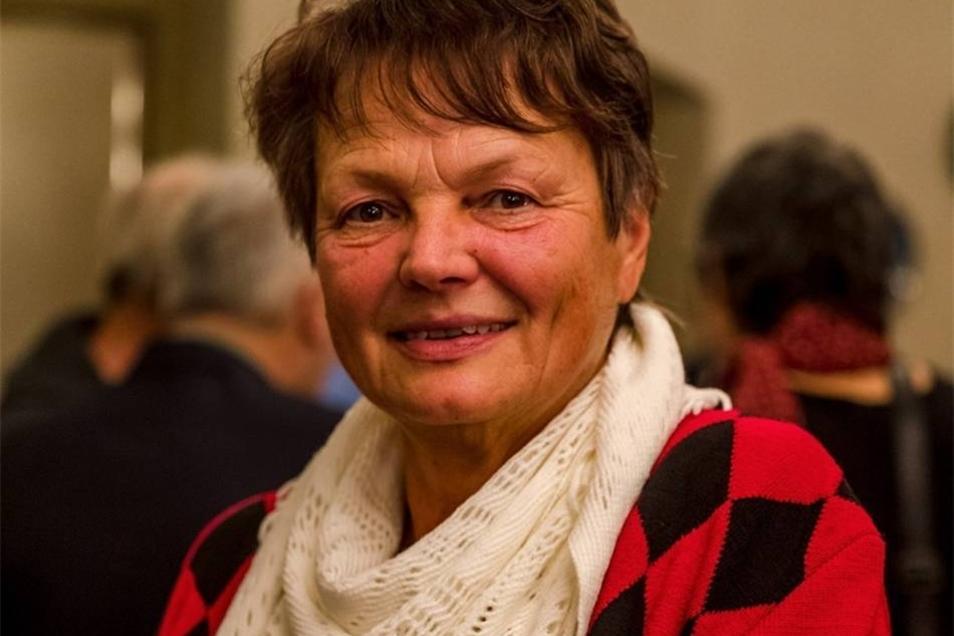 Regina Werner  Erstaunt und erfreut war Regina Werner, als sie die Einladung für den Empfang erhielt. Die 63-Jährige saß von 1994 bis 1999 als Parteilose im Gemeinderat von Meusegast, dann wurde der Ort nach Dohna eingemeindet. Regina Werner hat sich gefreut, am Donnerstag viele wiederzutreffen, die sie sehr lange nicht gesehen hat.