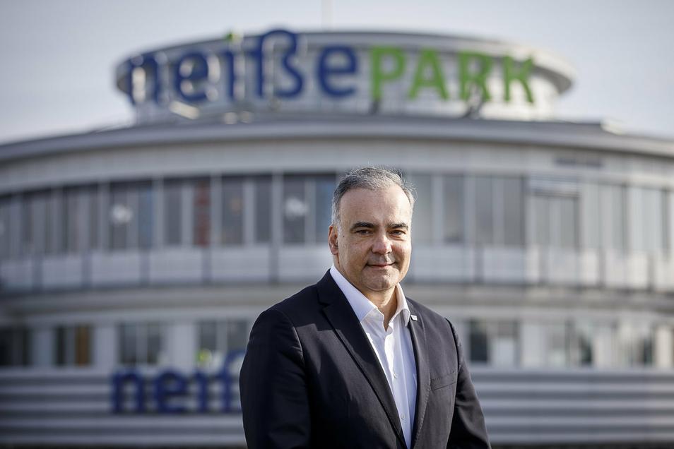 Sevket Demir, Centermanager des Neiße-Parks.