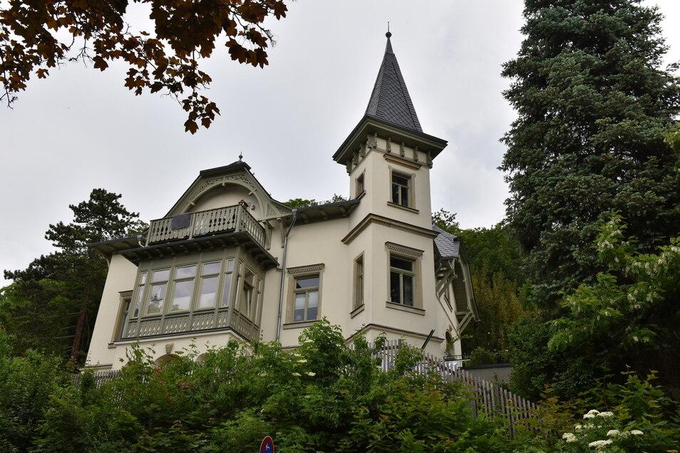 Die denkmalgeschützte Grützner-Villa soll verkauft werden.