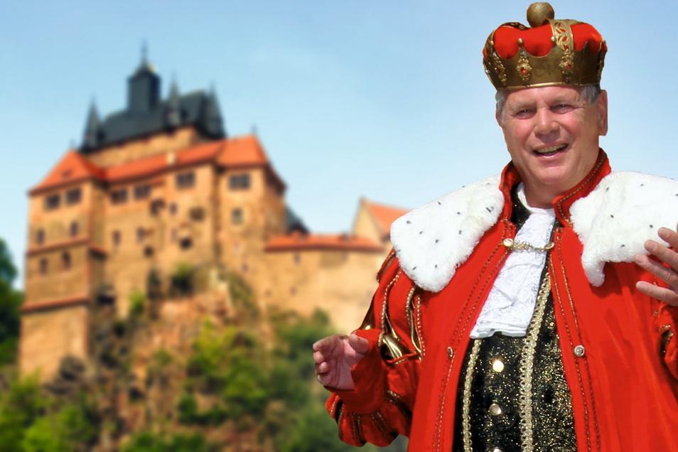 Die Burg der Märchen gab es in diesem Jahr auf Kriebstein nur in einer Miniversion. 2022 steht sie für den 9. und 10. Juli wieder fest im Programm des Miskus.