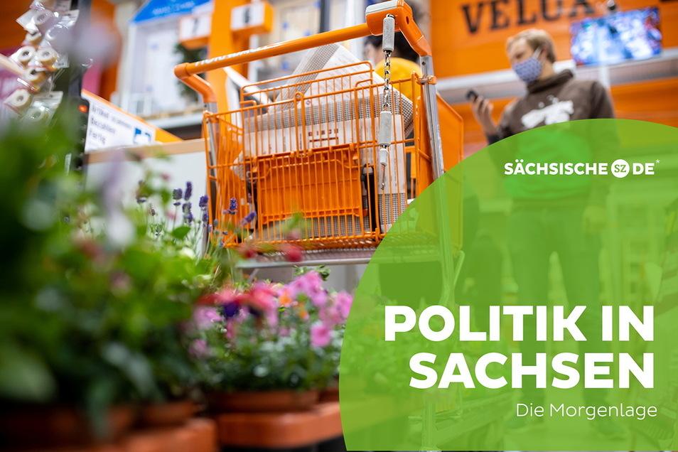 Dürfen Gartencenter öffnen oder nicht - dieser Verwirrung hat Sachsens Sozialministerium ein Ende gesetzt. Oder es zumindest versucht.