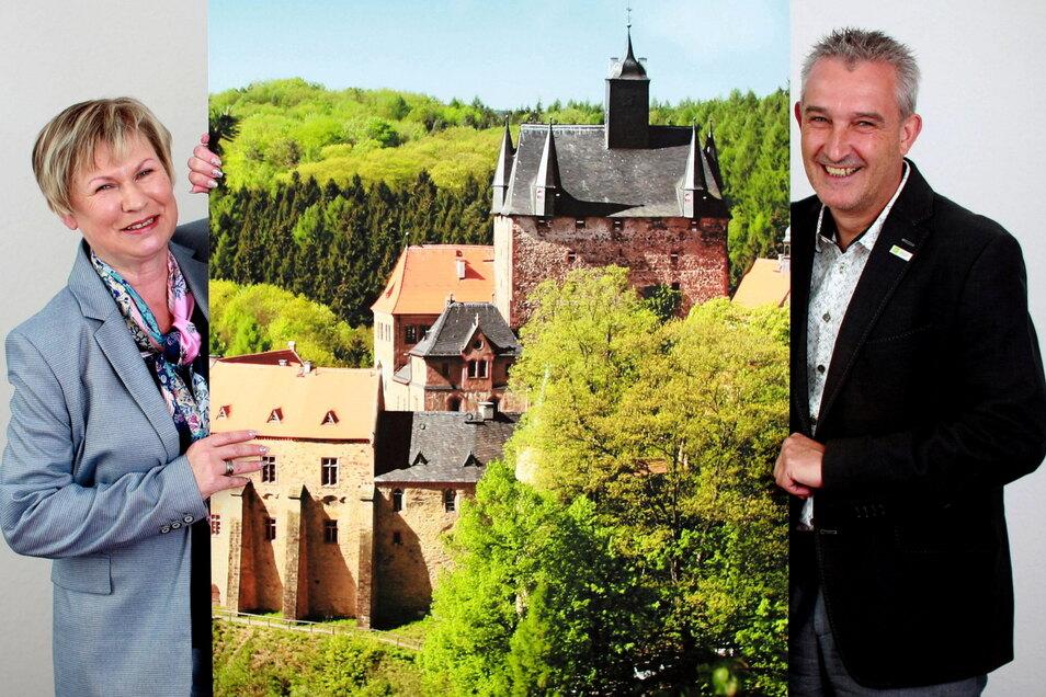 Elke Görlitz und Matthias T. Poch sind die Geschäftsführer der DDV Döbeln GmbH, die hinter dem Döbelner Anzeiger steht und zur DDV Mediengruppe in Dresden gehört.