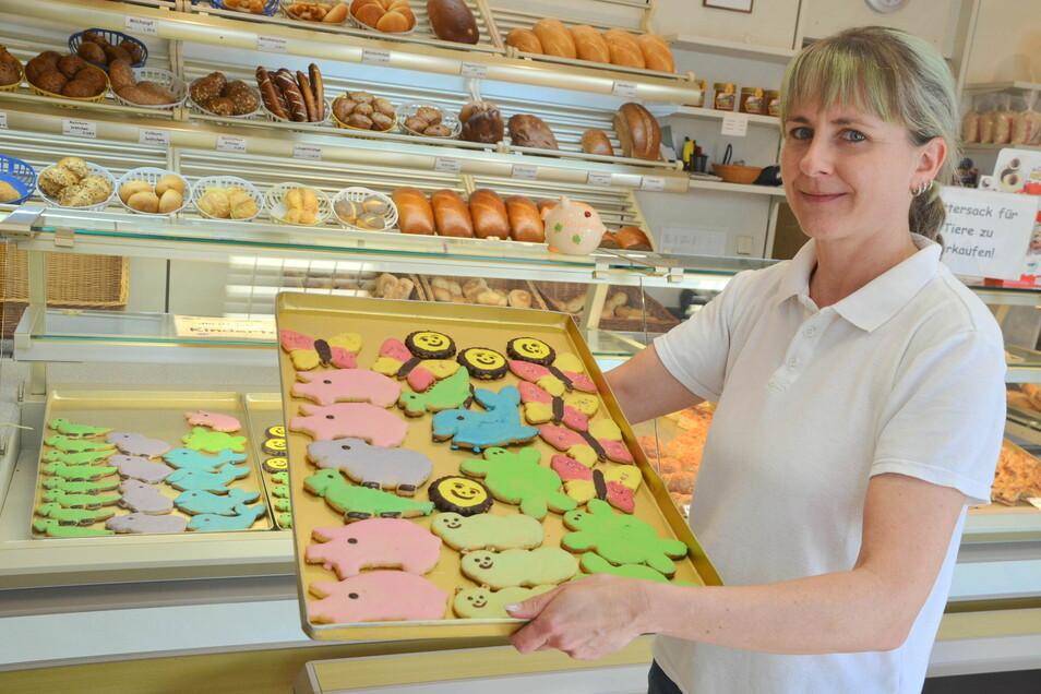 Benita Marschner stellt ungewöhnliche Kekse speziell für den Kindertag her.