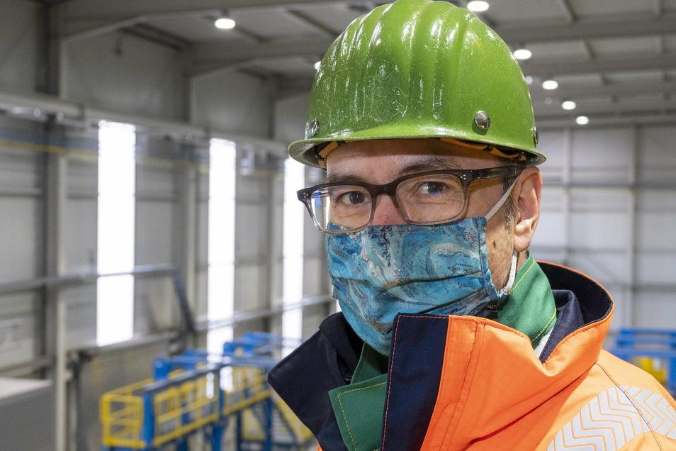 Christian Dohr ist seit einem Jahr Werkleiter bei Elbe Stahl Feralpi (ESF). Zuvor hat der 57-Jährige im Stahlhandel in den USA gearbeitet.