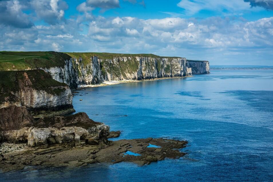 Der Vorfall ereignete sich rund 140 Kilometer vor der Ortschaft Flamborough an der englischen Nordseeküste.