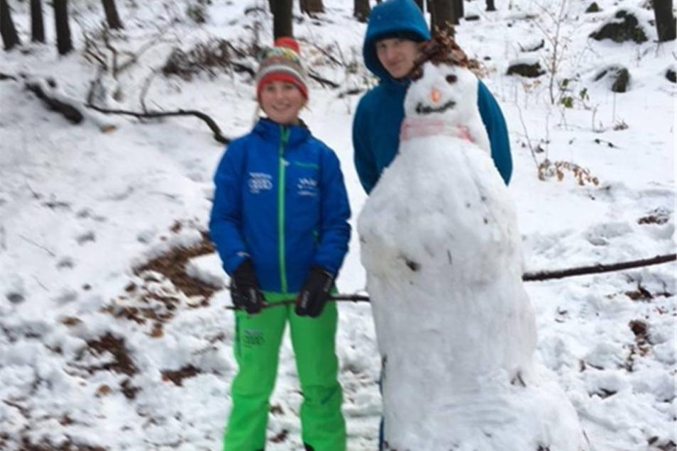 Den letzten Schnee galt es am Sonntag auch auf dem zweiten Querweg am Valtenberg zu zelebrieren.