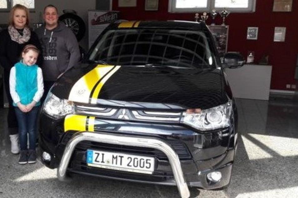 Sein bisheriges Auto zierte sogar die Farbe schwarz-gelb.