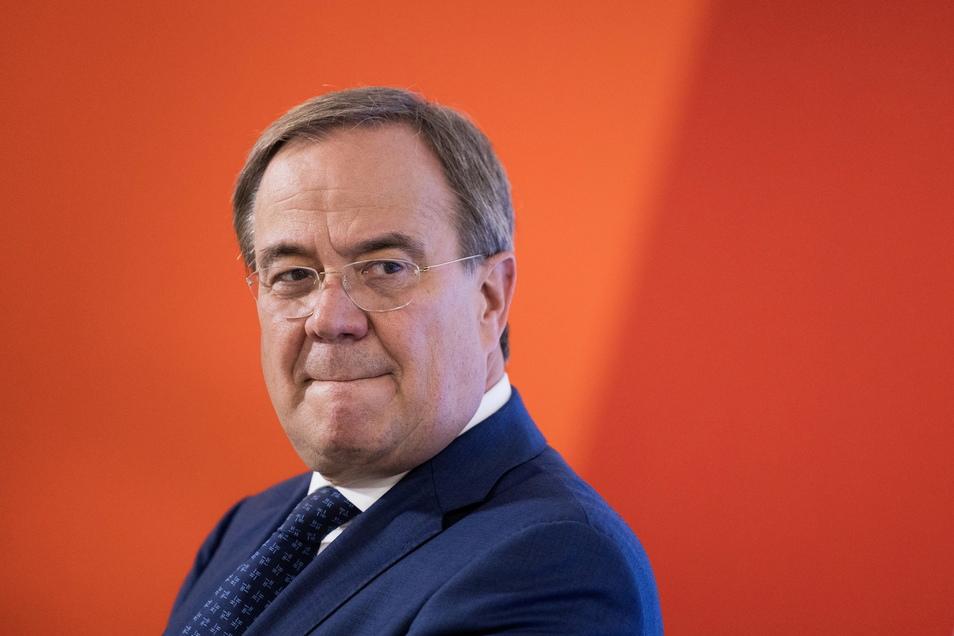 Armin Laschet, Ministerpräsident von Nordrhein-Westfalen, Bundesvorsitzender und Kanzlerkandidat der CDU.