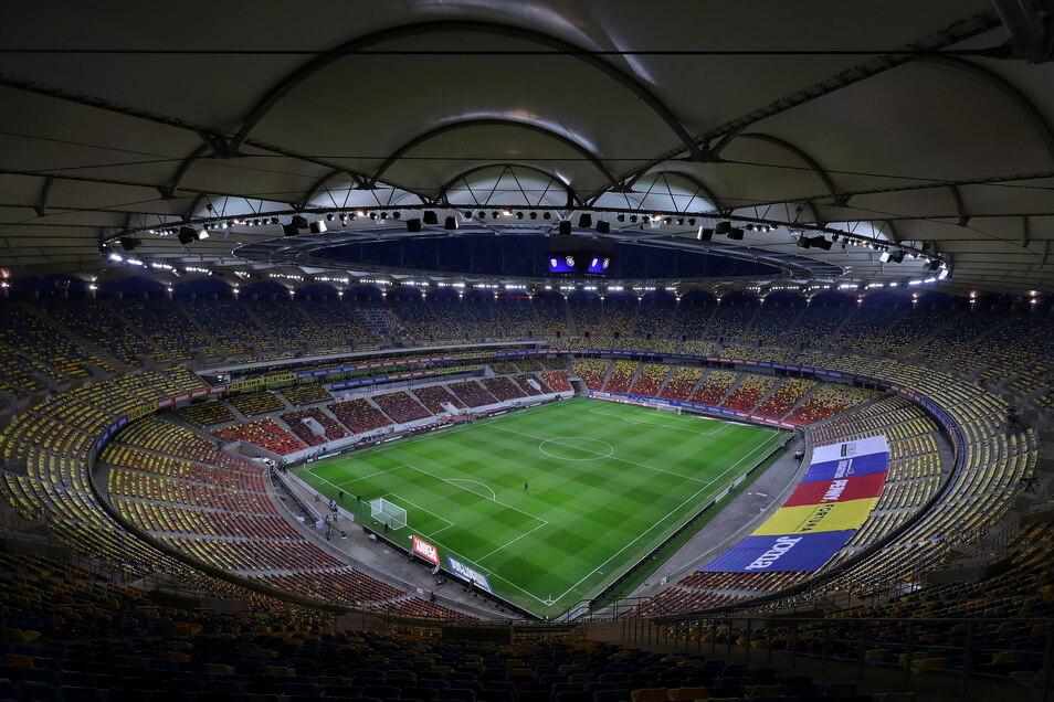 Bukarest, National Arena: 13.000 zugelassene Zuschauer; drei Gruppenspiele, ein Achtelfinale.