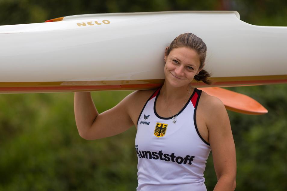 Steffi Kriegerstein unterzieht sich am Freitag einem Stresstest.