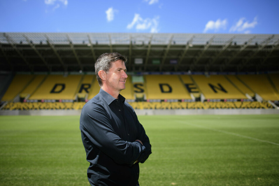 Neu in Dresden. Seit 1. Juli arbeitet Ralf Becker als Sportchef bei Dynamo Dresden. Demnächst will er sich eine Wohnung in der Stadt suchen.