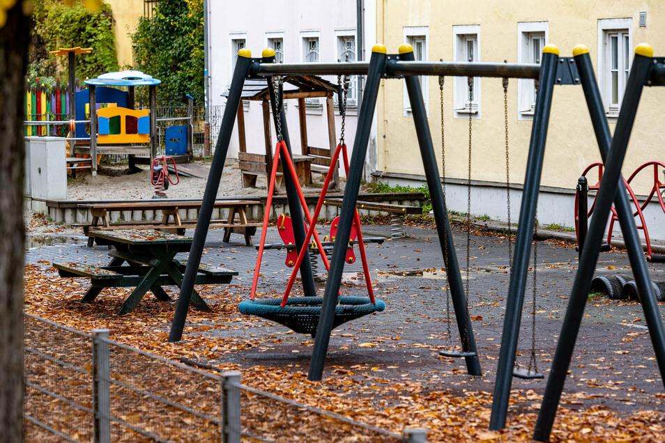 In Dresden entstehen neue Spielplätze mit Klettermöglichkeiten.