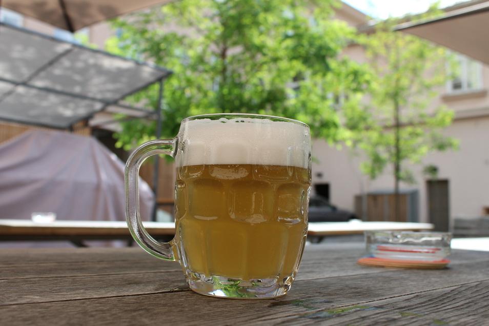 Im Dva Kohouti gibt es nur Bier aus Prag und Umgebung.