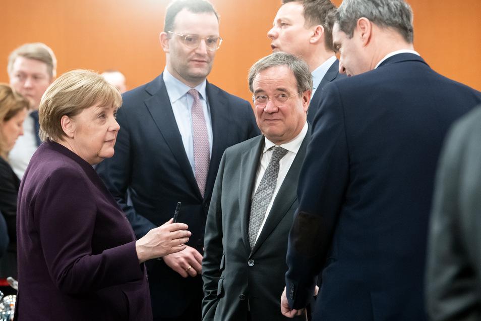 Auge in Auge werden sich die Spitzenpolitiker länger nicht gegenüberstehen.