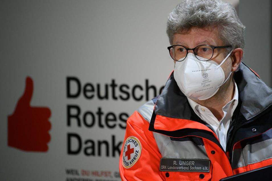 Rüdiger Unger, Vorsitzender des Vorstands Deutsches Rotes Kreuz (DRK) Landesverband Sachsen.