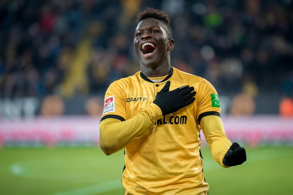 Hand auf's Herz.... Moussa Koné und Dynamo - das passt derzeit gut.
