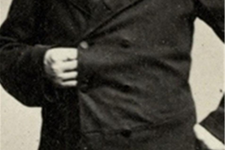 ...mit seinem Görlitzer Urahn Robert Oettel