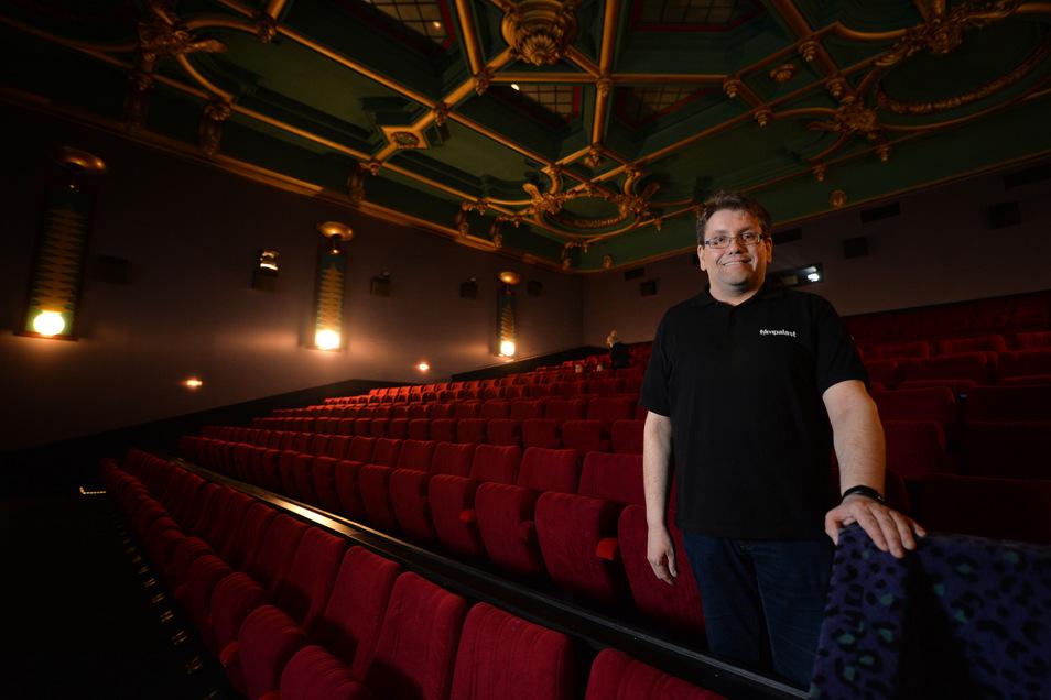Filmpalast-Chef Hendrik Schönfeld: Kino-Neustart mit besonderer Preisaktion.