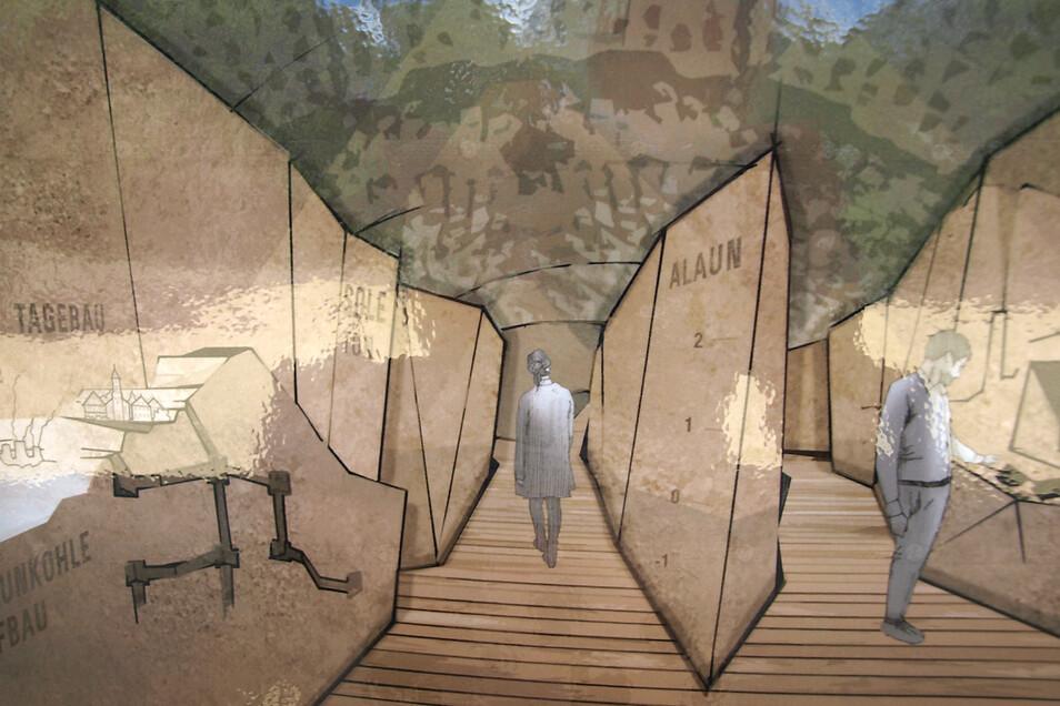 Beim Wandeln durch den Muskauer Faltenbogen sollen Besucher erfahren, wie die Formation einst entstand und sich auf Vergangenheit, Gegenwart und Zukunft auswirkt.